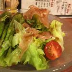 グリルスティックバッチ - ばっちサラダ450円
