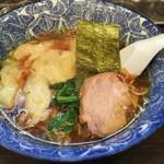 60193032 - 名物 肉厚 ワンタン麺 550円♪
