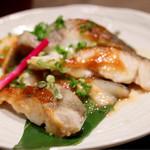 個室 海鮮 居酒屋 東北商店 - 鱈の仙台味噌炙り焼き