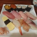 幸甚寿司 - 特上にぎり