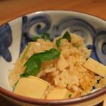 鈴しろ - 【再訪2】筍の炊き込み御飯