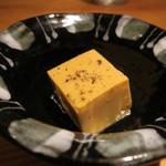 鈴しろ - 【再訪2】地卵の玉子豆腐 トリュフオイルかけ