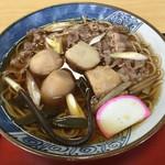 佐藤屋 - 佐藤屋(山形県山形市桜町)芋煮そば 950円