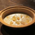 ヴェール パール ナオミ オオガキ - ブルーチーズと栗のリゾット