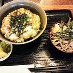 そば処 たちばな - 親子丼セット(冷たいお蕎麦)♪