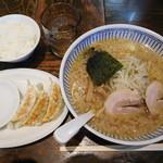ハッスルラーメン ホンマ - ハッスルサービスランチ ¥740→¥500-