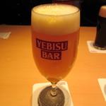 YEBISU BAR - 小雪 604円