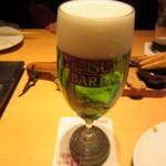 YEBISU BAR - ロイヤルヱビス 604円
