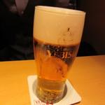 YEBISU BAR - ヱビスビール 567円