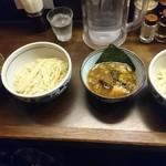 60196171 - 2人分のつけ麺♪