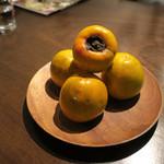 ヴェール パール ナオミ オオガキ - 那須からす山の柿