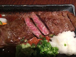 桃酔 - 黒毛和牛ステーキ(イチボ)