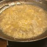 かしら焼き&もつ鍋金太郎 - 〆の麺の後に、さらに〆のリゾットに