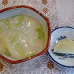 三彩亭 - 白菜のクリーム煮