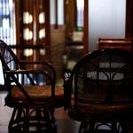 うさぎカフェ - 落ち着いた静かな空間。