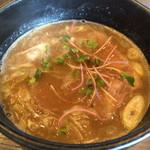 びし屋 - つけ麺のつけ汁