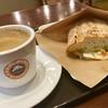 サンマルクカフェ - 料理写真:ブレンドコーヒー & ホットサンド