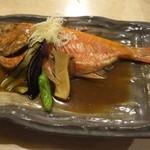 60198577 - 煮魚 きんめだい