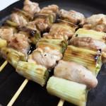 肉のマルハチ - 料理写真:ねぎま(たれ)