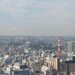 60198831 - お店の外のエレベーター横からの風景。富士山が見えます。