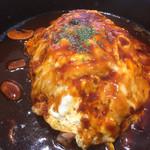 てんてん食堂 - 料理写真:鉄板デミオムライス590円税込