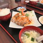 台湾料理 弘祥 - 料理写真:2016 12 唐揚げ(油淋鶏)ランチ