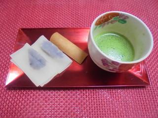 元祖八ツ橋 西尾為忠商店  - 抹茶と、八つ橋