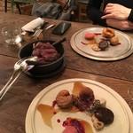 organ - 2016.12.9北海道産 蝦夷鹿のロースト 鹿肉のクロメスキ添え