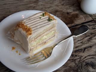グレイズ - 紅茶のケーキ