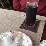 Cafe OKINA - 日替わりランチ(レギュラー):アイスコーヒー