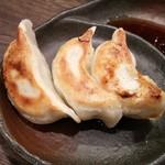 節骨麺たいぞう - 餃子3ケ
