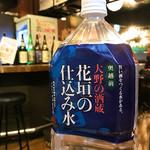 日本酒原価酒蔵 - チェイサーのお水は仕込み水