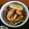 増田屋 そば店 - 料理写真:鳥なんばん蕎麦