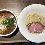 サバカレーつけ麺