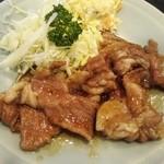 入谷食堂 - 豚しょうが焼き