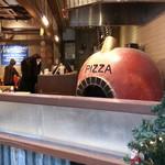 ピッツァナポレターノカフェ - 入口から