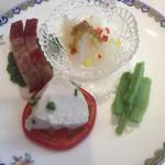 中国料理 桃花林 - [毎位四拼] 特製四種盛り合わせ冷菜 (銘々盛り)