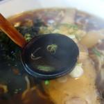 60214781 - 黒くもスッキリ透明スープ
