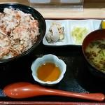 群青 - 料理写真:群青せいこ丼h28.12.19