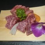 60215592 - 米沢牛特選ハラミ、米沢牛・黒毛和牛上タン塩