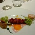メゾン タテル ヨシノ - オマールブルーのサラダ仕立て モザイク野菜と共に