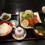 味ごよみ吉野 - カキフライ定食980円