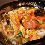 chuugokuryourikouka - トマト卵刀削麺