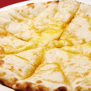 ◆大人気♪一度食べるとヤミツキになる「チーズナン」