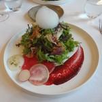 イル ギオットーネ - 前菜の サラダ