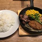 神田の肉バル RUMP CAP - ミックスグリル@1,000円
