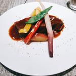 60219363 - 豚ばら肉のデミソース煮込み                          税別  ¥1680