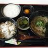 一休庵 - 料理写真:麦とろめしセット@750