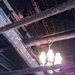 鐵馬厩 - 豪農のおうちみたいなお店は天井が高い。