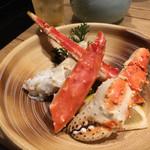 魚寅本店 - タラバガニぼいる 1,800円